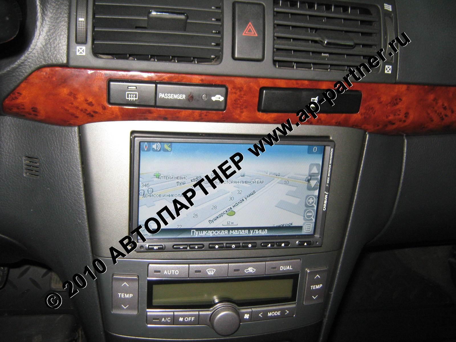 магнитола Toyota Авенсис 2007 #10