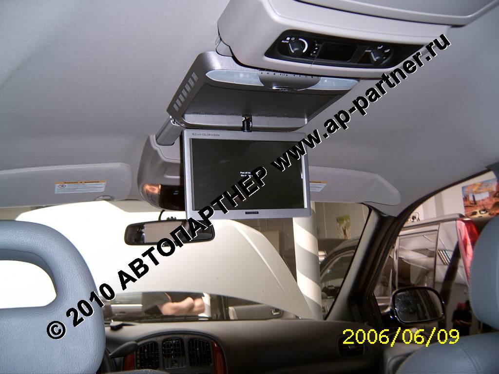 Как установить телевизор на потолок автомобиля своими руками 403